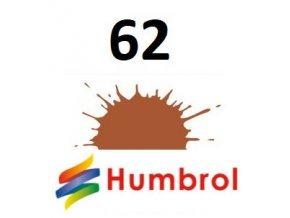 Humbrol barva (62) emailová, akryl Leather - Matt