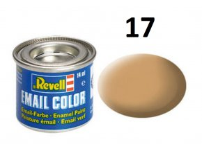 Revell barva emailová - 32117: matná africká hnědá (africa brown mat)