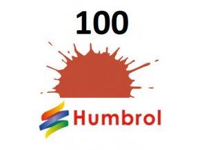Humbrol barva (100) emailová Red Brown - Matt