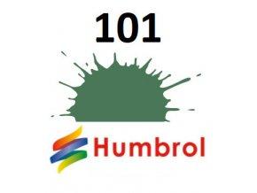 Humbrol barva (101) emailová Mid Green - Matt
