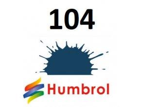 Humbrol barva (104) emailová, akrylová Oxford Blue - Matt