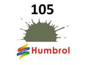 Humbrol barva (105) emailová Marine Green. - Matt
