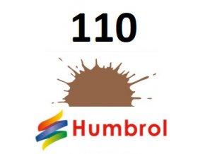 Humbrol barva (110) emailová, akrylová Natural Wood - Matt
