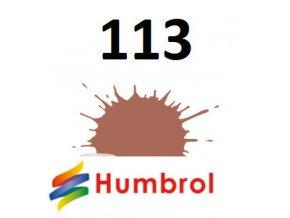 Humbrol barva (113) emailová, akrylová Rust - Matt