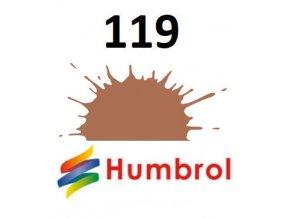 Humbrol barva (119) emailová Light Earth - Matt