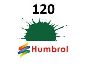 Humbrol barva (120) emailová Light Green - Matt