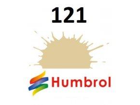 Humbrol barva (121) emailová Pale Stone - Matt