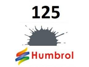 Humbrol barva (125) emailová US Dark Grey - Satin