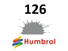 Humbrol barva (126) emailová US Med Grey - Satin