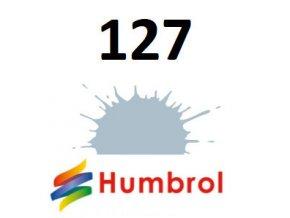Humbrol barva (127) emailová, akrylová US Ghost Grey - Satin