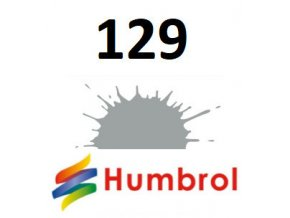 Humbrol barva (129) emailová US Gull Grey - Satin