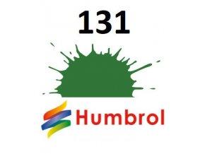 Humbrol barva (131) emailová Mid Green - Satin