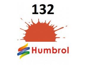 Humbrol barva (132) emailová Red - Satin