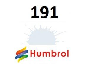 Humbrol barva (191) emailová, sprej Chrome Silver - Metallic