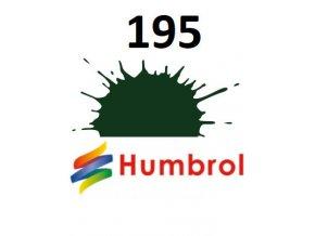 Humbrol barva (195) emailová Dark green - satin