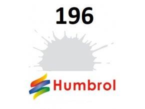 Humbrol barva (196) emailová Light Grey - Satin