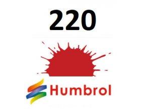 Humbrol barva (220) emailová, akrylová, sprej Racing Red - Gloss