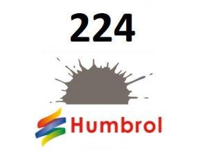 Humbrol barva (224) emailová Dark Slate Grey - Matt