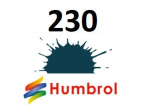 Humbrol barva (230) emailová PRU Blue - matt