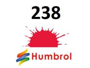Humbrol barva (238) emailová Arrow Red - Gloss
