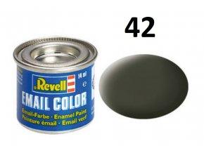 Revell barva emailová - 32142: matná olivově žlutá (olive yellow mat)