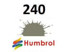 Humbrol barva (240) emailová RLM 02 Grau - Matt