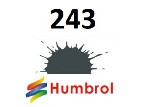 Humbrol barva (243) emailová RLM 72 Grun - Matt
