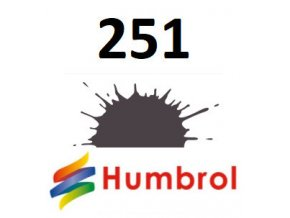 Humbrol barva (251) emailová RLM 81 Dunkelbraun - Matt