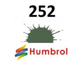 Humbrol barva (252) emailová RLM 82 Olivgrun - Matt