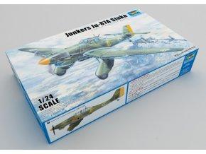 Trumpeter letadlo Junkers Ju-87A Stuka 1:24 02420