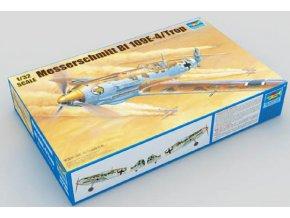 Trumpeter letadlo Messerschmitt Bf 109E-4/Trop 1:32 02290