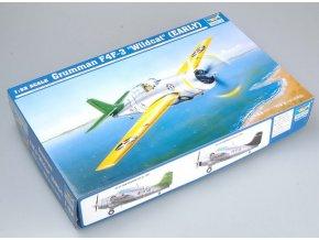 "Trumpeter letadlo Grumman F4F- 3 ""Wildcat"" (EARLY) 1:32 02255"