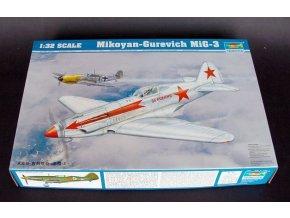 Trumpeter letadlo Mikoyan-Gurevich MiG-3 1:32 02230