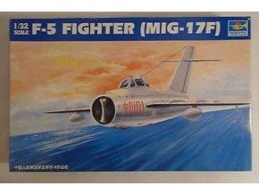Trumpeter letadlo F-5 FIGHTER(Mig-17F) 1:32 02205