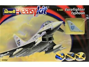 Revell letadlo Eurofighter Typhoon Easy-Kit 1:100 06625