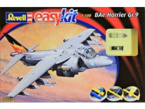 Revell letadlo BAe Harrier Gr.9 Easy-Kit 1:100 06645