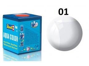 Revell barva akrylová - 36101: lesklá čirá (clear gloss)