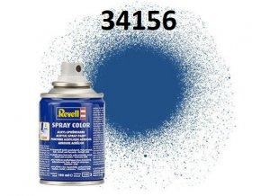 Revell barva ve spreji - 34156: matná modrá (blue mat)