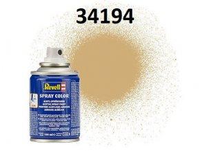 Revell barva ve spreji - 34194: metalická zlatá (gold metallic)