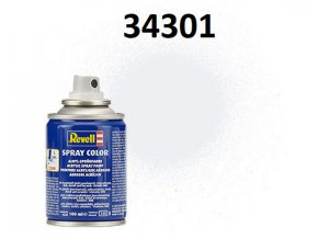 Revell barva ve spreji - 34301: hedvábná bílá (white silk)