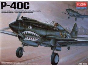 Academy letadlo P-40C Tomahawk 1:48 12280