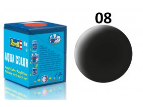 Revell barva akrylová - 36108: matná černá (black mat)