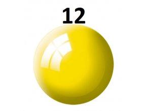 Revell barva (12) akrylová nebo emailová (yellow gloss)