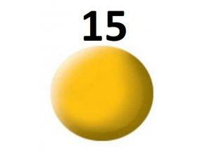 Revell barva (15) akrylová nebo emailová (yellow mat)