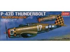 Academy letadlo P-47D Thunderbolt Razorback 1:72 12492