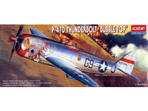Academy letadlo P-47D Thunderbolt Buble Top 1:72 12491