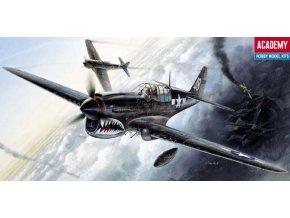 Academy letadlo P-40M/N 1:72 12465