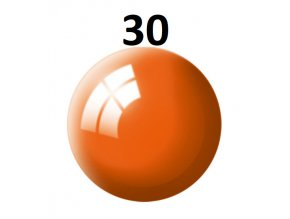 Revell barva (30) akrylová nebo emailová (orange gloss)