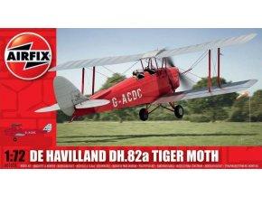Airfix letadlo De Havilland DH.82a Tiger Moth 1:72 A01024
