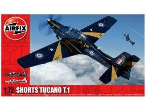 Airfix letadlo Shorts Tucano T.1 1:72 A03059